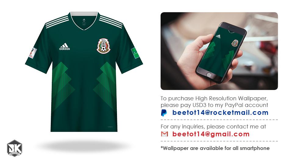 cheaper ce3e2 e4224 Beetot Kit: Mexico Kit World Cup 2018