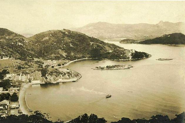 Vista da Prainha, Vila Velha, ES. Euthychio d'Oliver. Acervo IPHAN-ES.