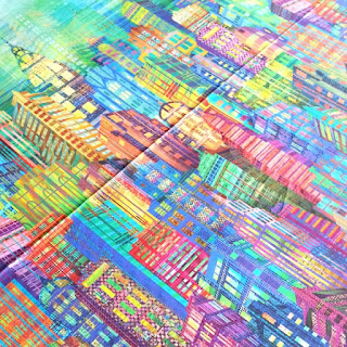 Skyline cotton fabric for dressmaking from More Sewing