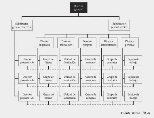 Dorganizacional En Perú Organización Matricial
