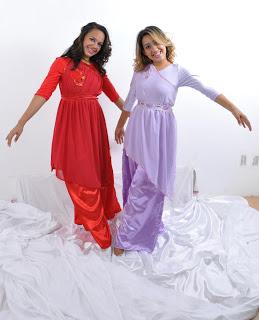 Figurinos para Dança (Parte 7) - Femininos, Vestes ministeriais femininas, figurinos para dança, figurinos de dança para mulheres,