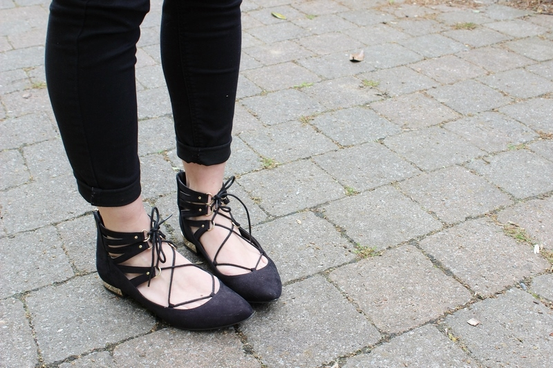 tenue-ballerines-lacets