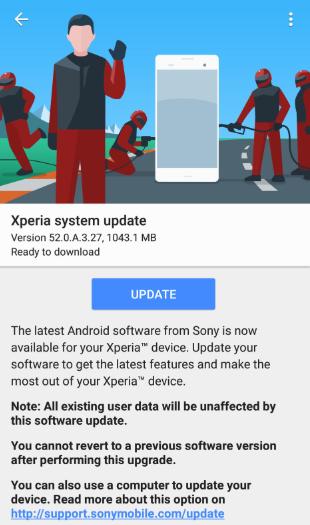 سوني تطرح تحديث Android 9.0 Pie لـ هاتف Xperia XZ2