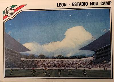 Figurina Estadio Nou Camp Messico 86