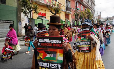 La Palestine vue d'Amérique latine - diplomatie et diasporas
