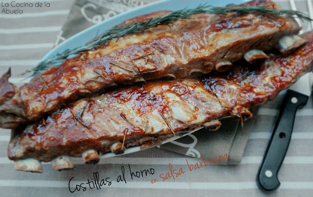 costillas barbacoa asado compartir bbk