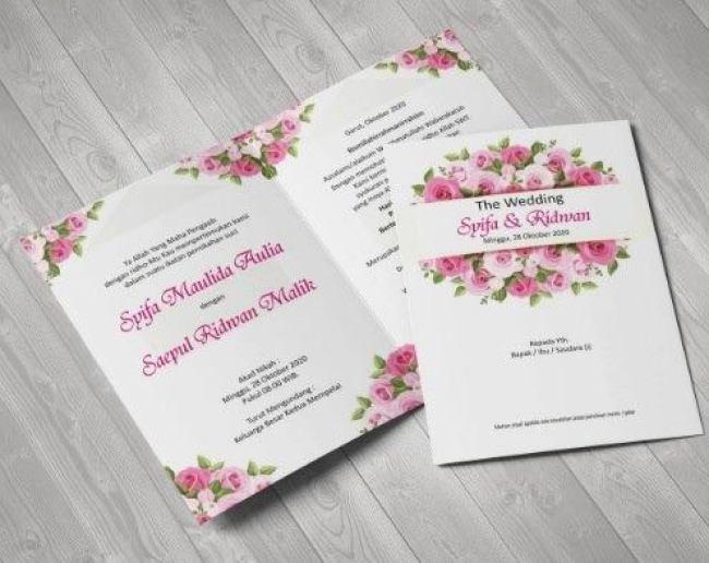 10 Contoh Undangan Pernikahan Yang Bisa Jadi Referensimu Ia