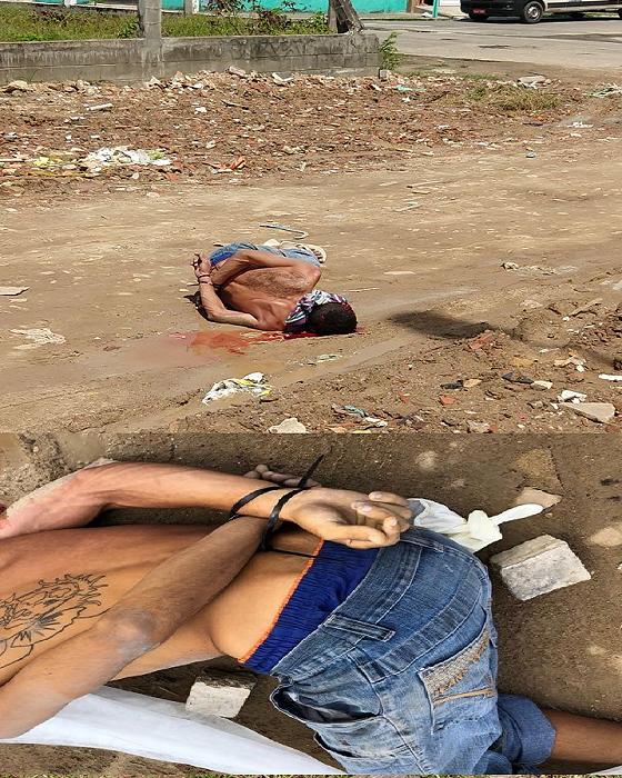 bc57c9e38 Em Maracanaú homem é morto a tiros em campo de futebol