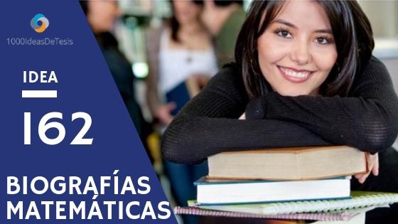 Idea de tesis 162 de 1000 ideas de tesis: ¿Qué podemos aprender de las historias de vida de profesores de Matemáticas?