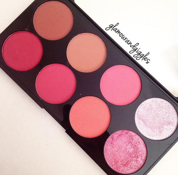 Make Up Revolution Blush and Contour Palette