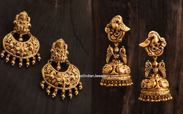 Nakshi Chandbali and Jhumkas