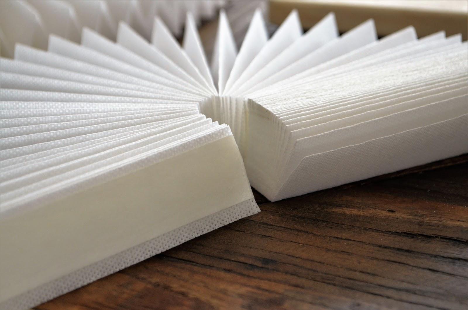 jalousie aus papierrollen selber machen, ikea hackers oder oder wie mache ich es mir selbst: rosetten - deko-hus, Design ideen