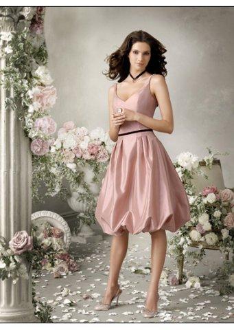 Beach Wedding Dresses: Tight-fitting bridesmaid dresses