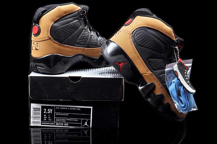 Brand Replica Kids Air Jordan 9 Retro Shoes Size Outlet From China Designer