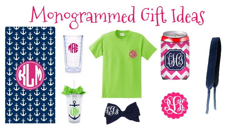 Stay Fabulous Monogrammed Gift Ideas