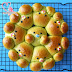 Pandan Custard Soft Bread ~ Sponge Dough Method ????????,????