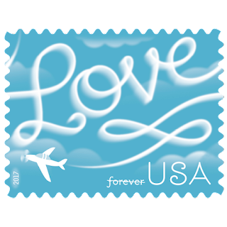Love Skywriting Forever stamp