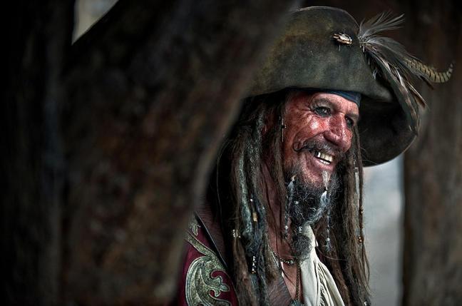 Vater Jack Sparrow