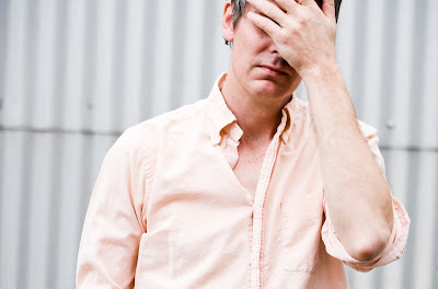 Stephen Malkmus facepalm