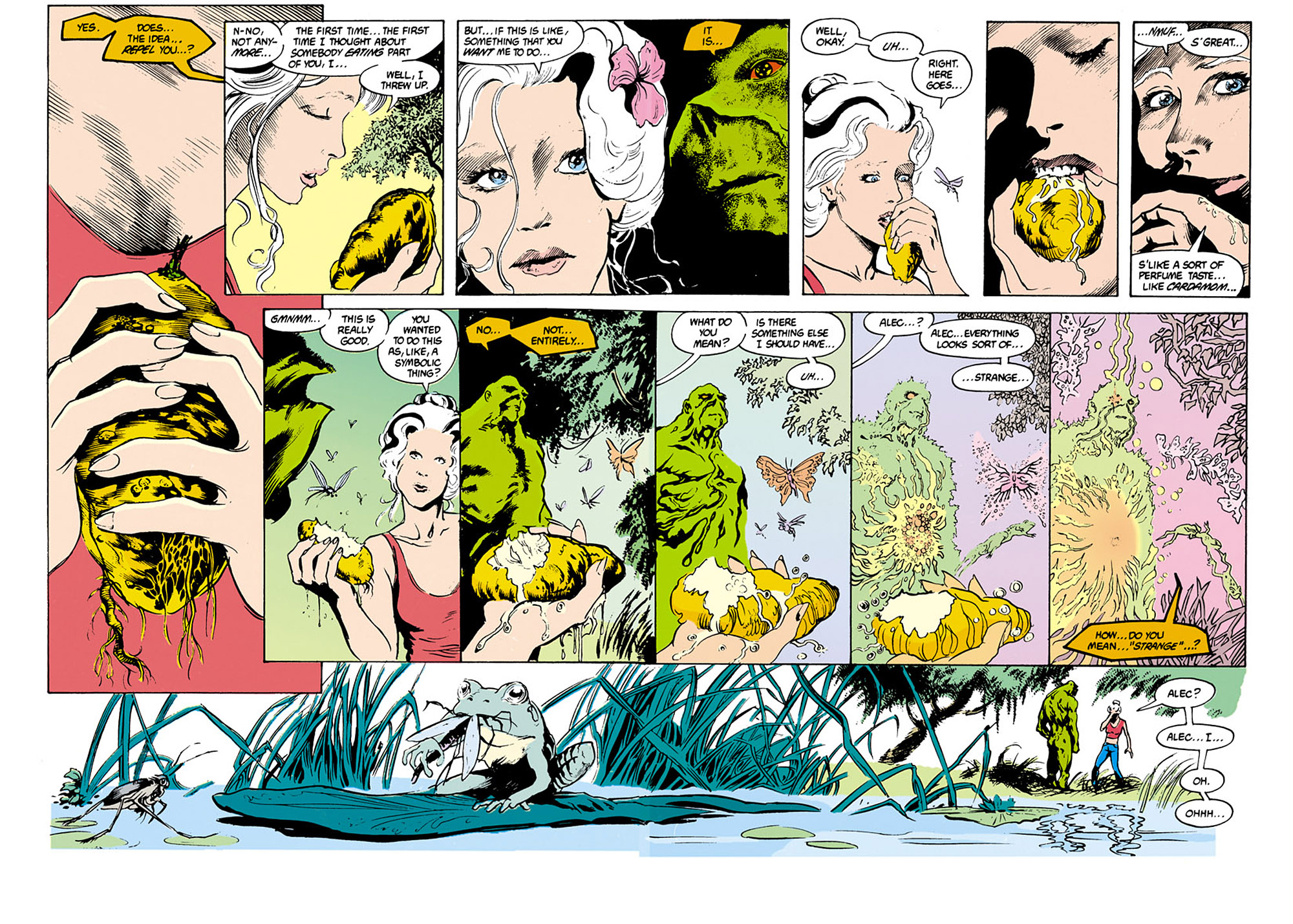 Swamp Thing (1982) Issue #34 #42 - English 11
