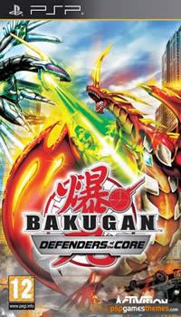 Bakugan Battle Brawlers - Defenders of The Core - PSP - ISO Download