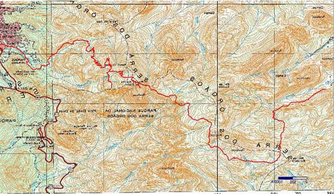 Interpretación y uso de la Carta Topográfica
