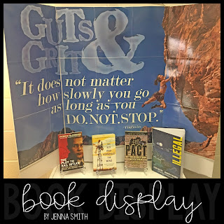 Guts & Grit Book Display