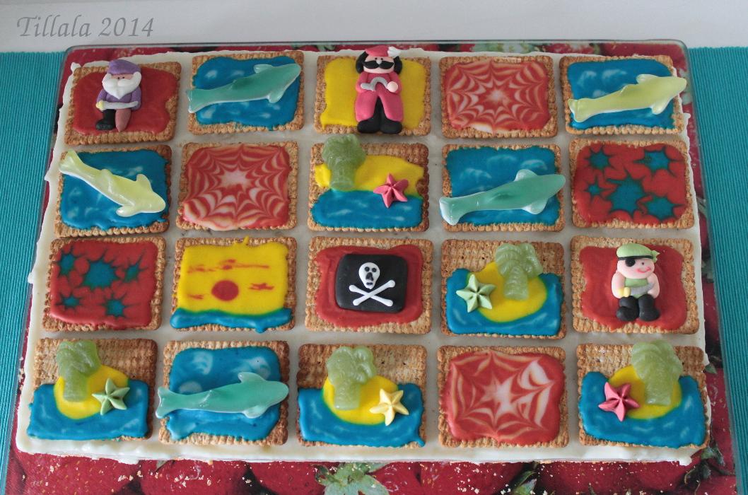 Himmelblau Und Sommerbunt Piratengeburtstag