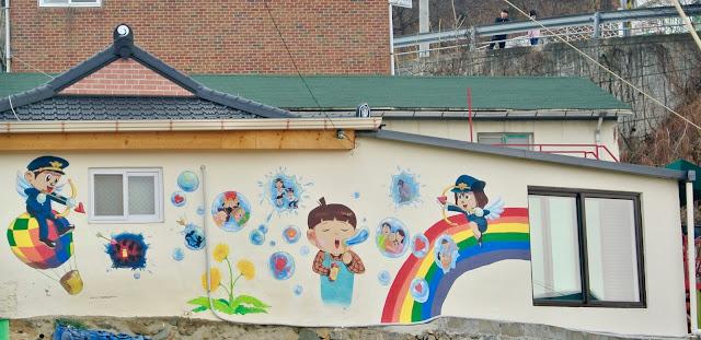 street art suamgol village cheongju korea corée du sud