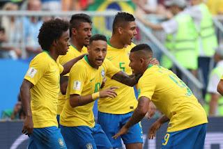 Brasil vence México por 2 a 0 e agora espera rival das quartas