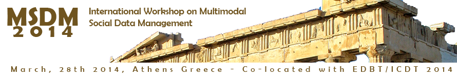 International Workshop on Multimodal Social Data Management