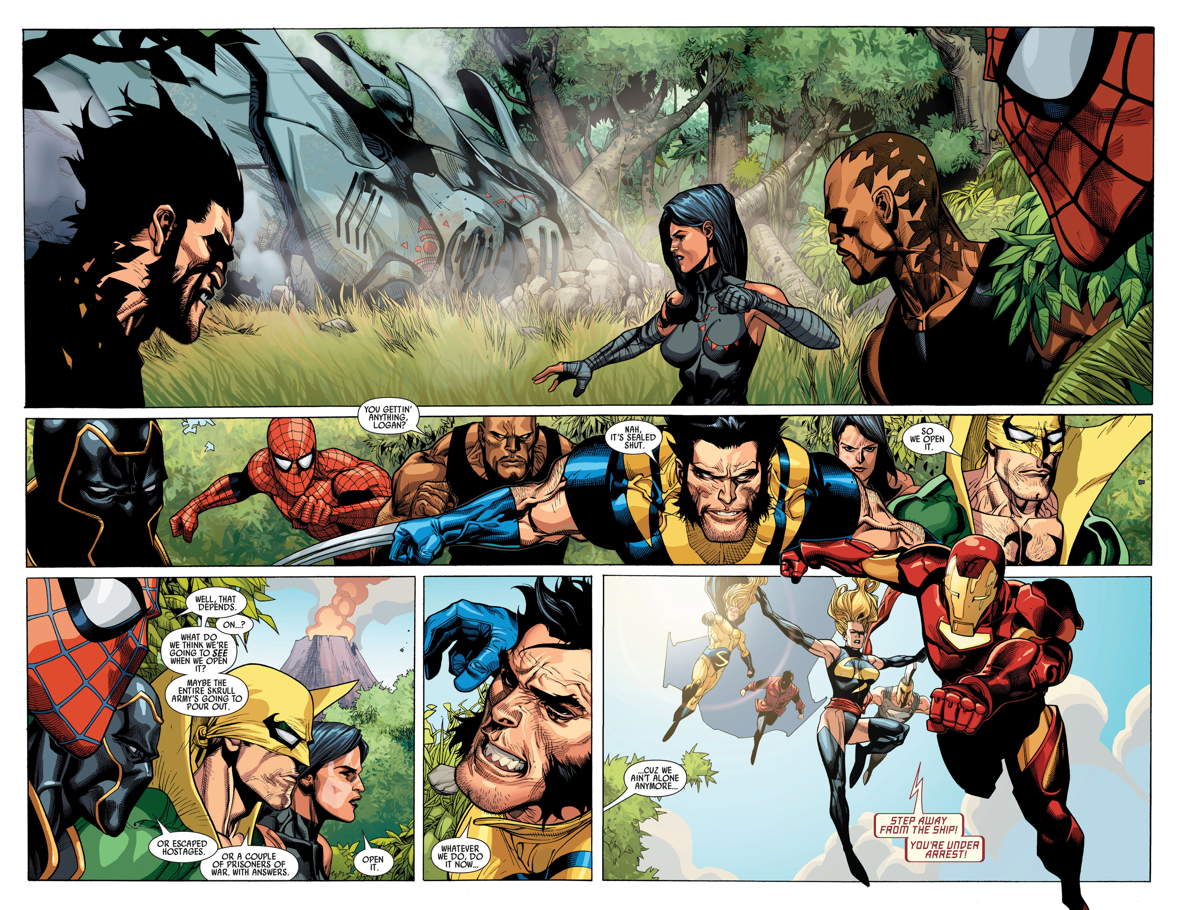 Read online Secret Invasion comic -  Issue #1 - 17
