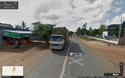Mitsubishi Fuso, Google Street View