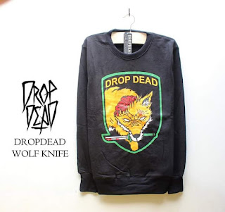 Jaket Fleece Hoodie - Dropdead DROP002