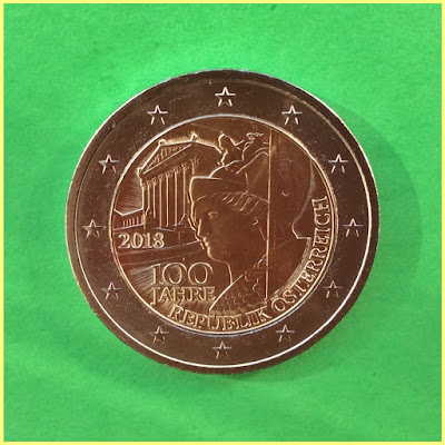 2 Euros Austria 2018