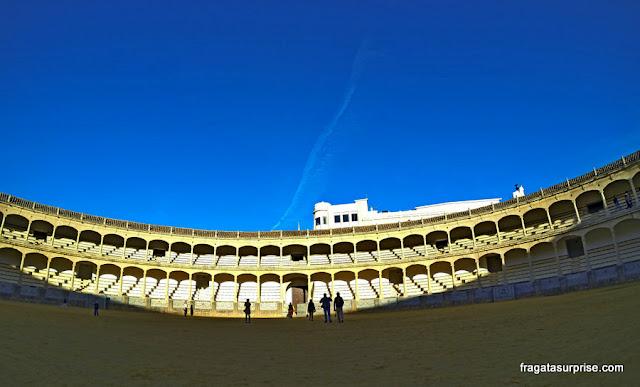 Ronda, Andaluzia, Espanha - Praça de Touros