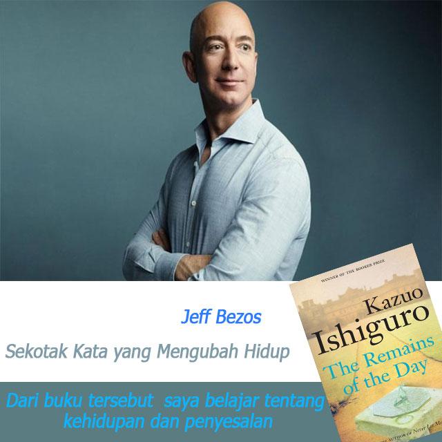 Sekotak Kata yang Mengubah Hidup dari Orang Terkaya di Dunia (Jeff Bezos - Amazon)