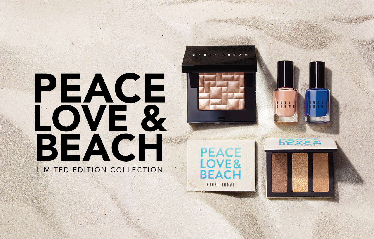 bobbi brown kolekcja bobbi brown peace love beach. Black Bedroom Furniture Sets. Home Design Ideas