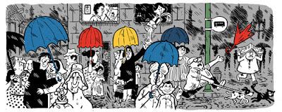 Google Doodle Peringati Ulang Tahun Kartunis India Mario Miranda
