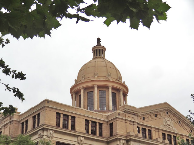 Dome of 1910 Harris County Courthouse (now home of two Texas courts of appeals)