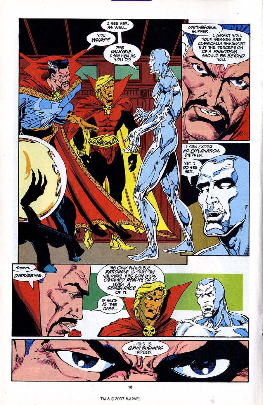 Read online Silver Surfer (1987) comic -  Issue #87 - 20