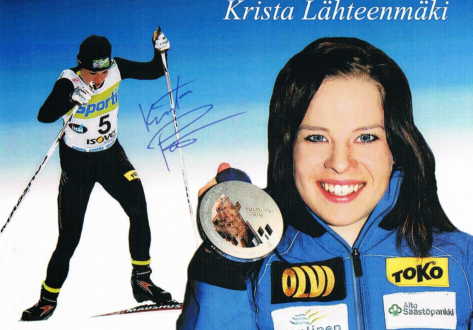 Autografy MP: 55. Krista Parmakoski (Lähteenmäki)