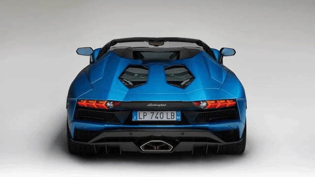Lamborghini Aventador S Roadster Top Speed