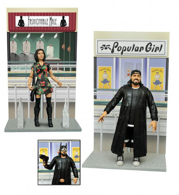 Mallrats Select Action Figures Series 2 by Diamond Select Toys - Shannen Doherty's Rene and Kevin Smith's Silent Bob