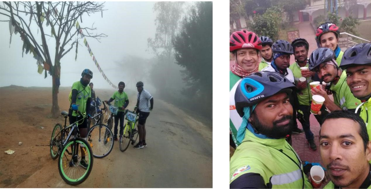 Konark Cyclothon 2017 in India