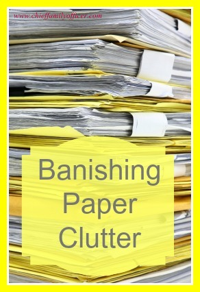 Eliminating Paper Clutter - chieffamilyofficer.com