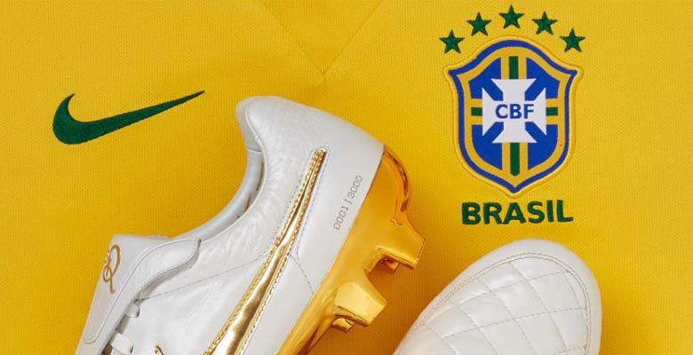 another chance 79e70 e2cf7 ... that the new Nike Brazil 2015-2016 Home Jersey will be be revealed  ahead of Brazils US-friendlies, the US-giant published the first close-up  picture of ...