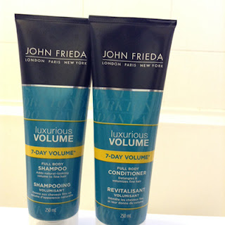 John Frieda Luxurious Volume Full Body Shampoo & Conditioner
