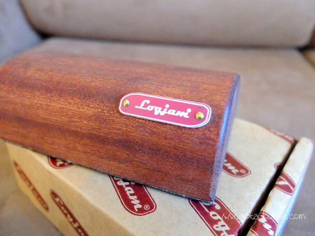 Got A Ukulele reviews - Logjam Travelog 2 name plate