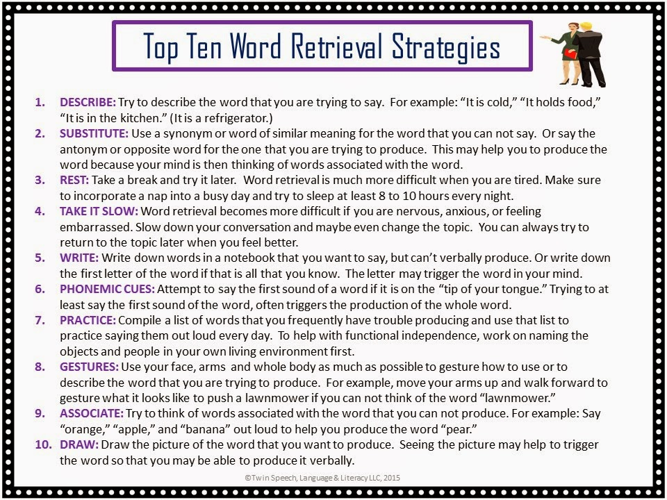 Word Retrieval Activities For Adults 63